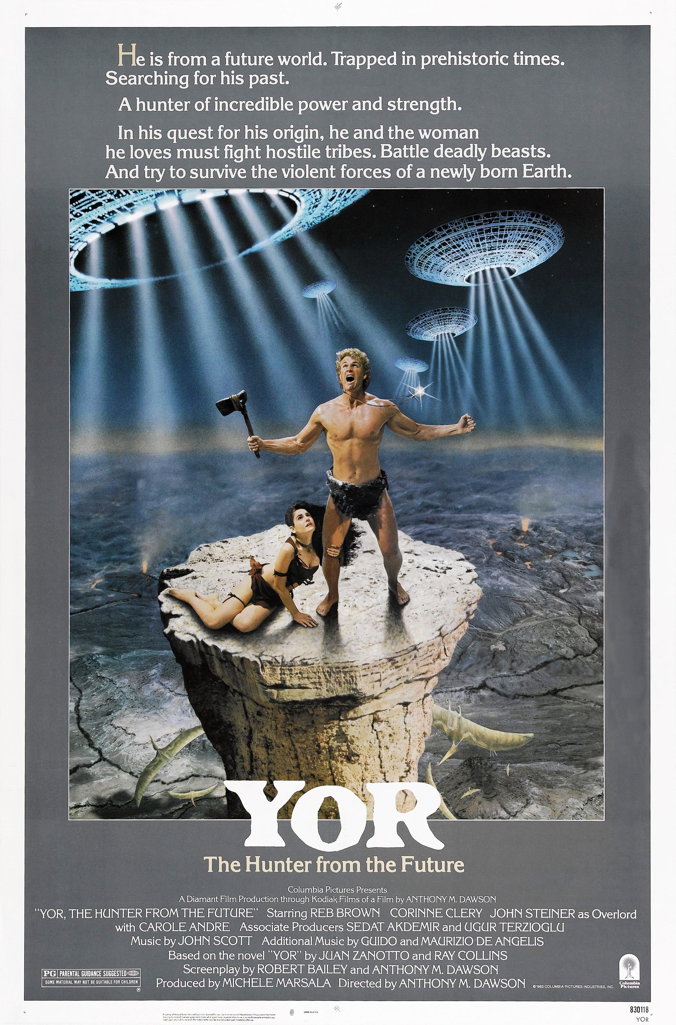 Yor, the Hunter from the Future movie