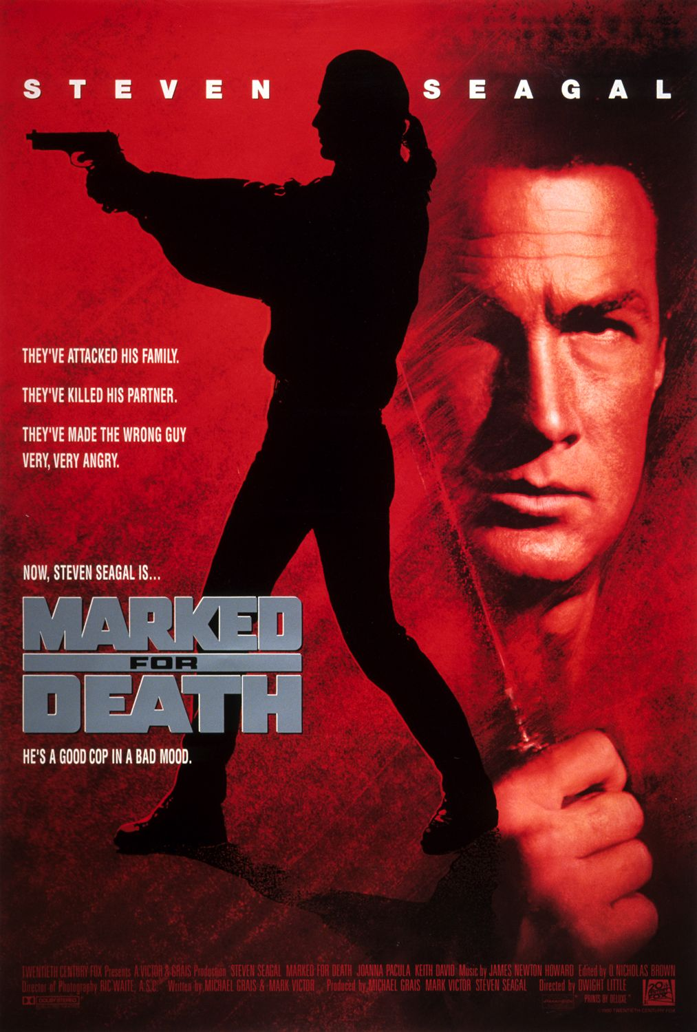Marked For Death Bmfcast194 Jonathan Kingston Seagal
